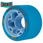 Morph Solo 59mm 93A Roller Derby Skate Wheels - Blue