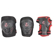 Child Combo Protection Set - Black/Red