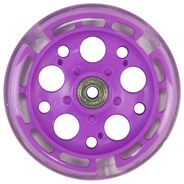 Zycom 125mm Light up front wheel - Purple