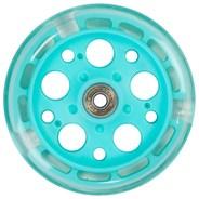 Zycom 125mm Light up front wheel - Teal