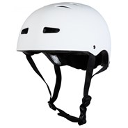 Multisport Matt White Dial Fit Helmet