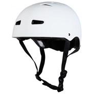 Multisport Matt White Dial Fit Helmet