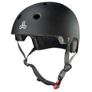 Dual Certified (FKA Brainsaver) Helmet - All Black Matte
