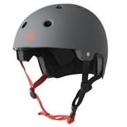 Dual Certified (FKA Brainsaver) Helmet - Gun Matte