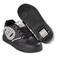 Propel Terry Black/Grey Terry Logo Heely Shoe
