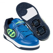 Plus Lighted Navy/Blue/Yellow Kids Heely X2 Shoe