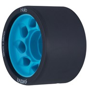 Halo 59mm/95a Roller Derby Skate Wheels - Charcoal/Blue