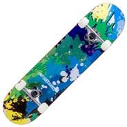Splat Green/Blue 7.75inch Complete Skateboard