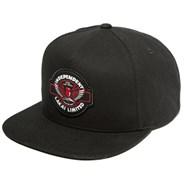 Indy Snapback Cap - Black