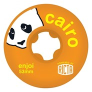SLIX Enjoi Cairo 81b Orange 53mm Wheel