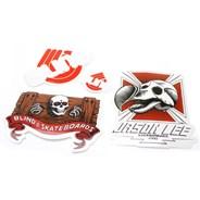 Jason Lee Dodo Skull Sticker Pack