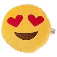 Love Bomb Heart Eyes Emoji Cushion