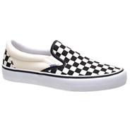 Vans Slip On Pro (Checkerboard) Black/White Shoe VA347VAPK