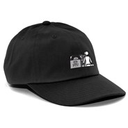 Subpop 6 Panel Cap - Black