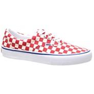 Era Pro (Checkerboard) Rococco Red/Classic White Shoe V00VFBQ2Z