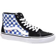 SK8 Hi Pro (Checkerboard) Black/Victoria Blue Shoe VA347TQ1L