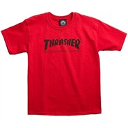 Skate Mag Youth S/S T-Shirt - Red