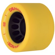 Sonar Demon EDM 62mm Roller Skate Wheels - Yellow