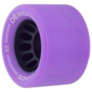 Sonar Demon EDM 62mm Roller Skate Wheels - Purple