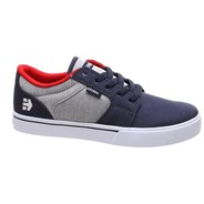 Barge LS Kids Grey/White/Red Shoe