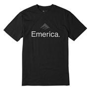 Emerica Skateboard Logo S/S T-Shirt - Black