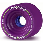 In Heat Longboard Wheels - Purple