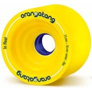 In Heat Longboard Wheels - Yellow