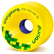Durian Freeride Longboard Wheels - Yellow
