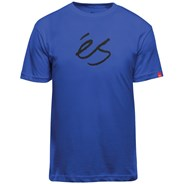 Mid Script Tech S/S T-Shirt - Royal