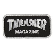 Magazine Logo Patch - Black/Silver