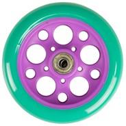 Zycom 125mm front wheel - Turquoise/Purple