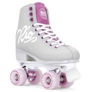 Script Quad Roller Skates - Grey/Purple