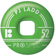 Ladd Pro Spec Skateboard Wheels - Green 52mm