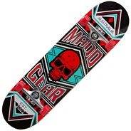 Pro Series Jest Red/Turquoise Complete Skateboard