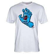 Screaming Hand S/S T-Shirt - White