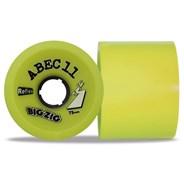 Reflex BigZigs 75mm/83A Longboard Wheels - Lemon
