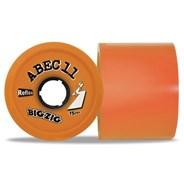Reflex BigZigs 75mm/86A Longboard Wheels - Orange