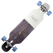 Ciemah Drop through Complete Longboard - Cool Grey