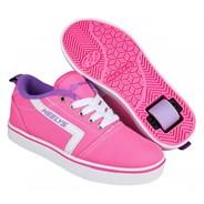 GR8 Pro Pink/White/Lilac Kids Heely Shoe