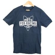 Flat Head S/S T-Shirt - Navy
