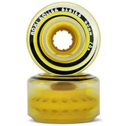 Outdoor Classic 65mm/78a Roller Skate Wheels - Pineapple