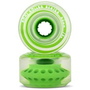 Outdoor Classic 65mm/78a Roller Skate Wheels - Honeydew