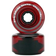 Juicy 65mm/78a Roller Skate Wheels - Cherry Stain