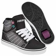 Uptown Black/Sparkle/Multi Kids Heely Shoe