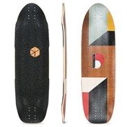 Truncated Tesseract 33 Longboard Deck