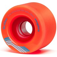 Kilmer Centreset Longboard Wheels - Orange