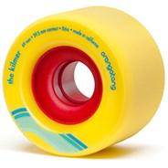 Kilmer Centreset Longboard Wheels - Yellow