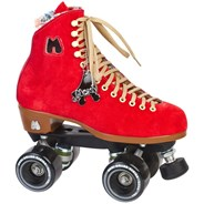 Lolly Quad Roller Skates - Poppy Red