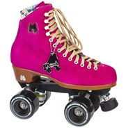Lolly Quad Roller Skates - Fuchsia