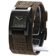 The Lizzie Watch - All Black/Green - SALE - 50% Off